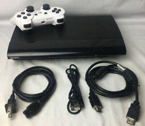 PlayStation 3 Super Slim Console Bundle CECH-4001C (500 GB)Controller Power,ETC