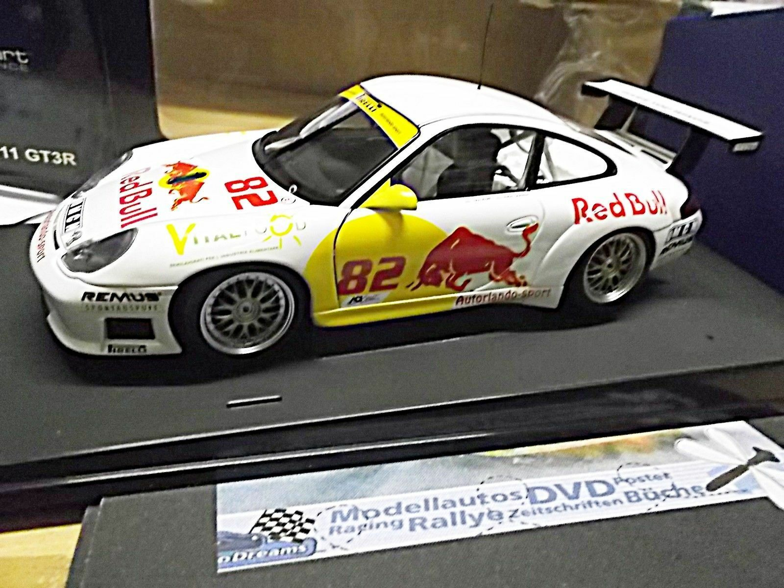 Porsche 911 996 gt3 r FIA GT ITALIA Autorlando quester wolff r Bull transformation 1 18