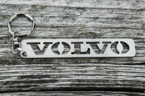Volvo keychain stainless steel keyring for S60 S80 V70 V80 car auto accesories