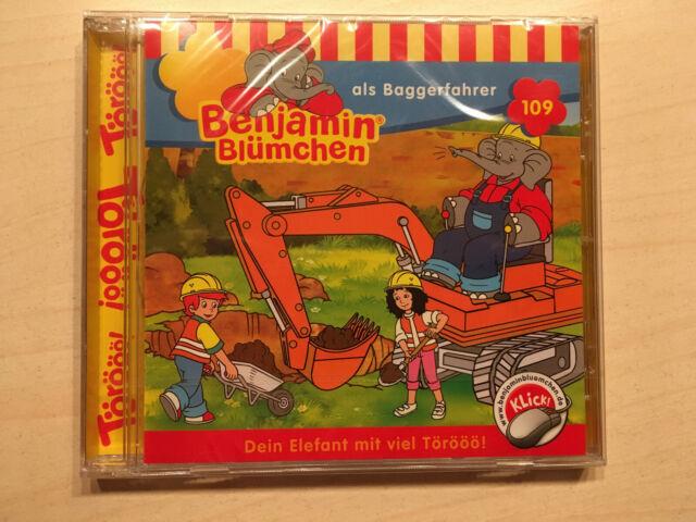 Hörspiel-CD - Benjamin Blümchen als Baggerfahrer Folge 109 # NEU OVP