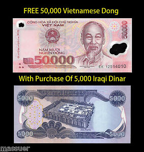 Image Is Loading Free 50 000 Viet Nam Dong With Purchase