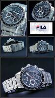 Men's -chronograph Fila Watch Special Design Easy To Read 10bar Waterproof