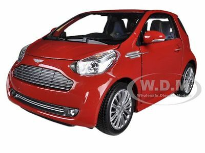 ASTON MARTIN CYGNET RED 1/24 DIECAST MODEL CAR BY WELLY 24028