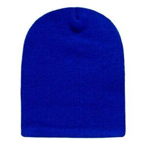 Royal Blue Beanie Hat Skull Ski Snowboard Winter Warm Knit Hats ... 3f2ee5f7d9b