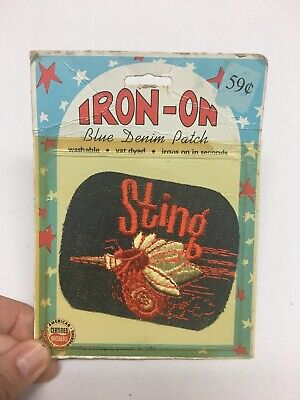 Vintage NOS RCA Stereo Electronics Iron-on Patch