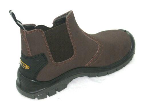 Blackrock Pendle Cuir Dealer Chelsea à Enfiler Sécurité Embout Travail Bottes Chaussures