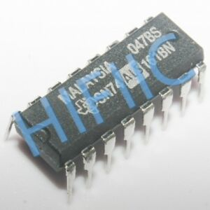 5 x 74hct161n presettable Synchronous 4 bit binary counte Philips dip-16 5pcs