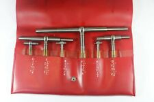 6 Pc Starrett Telescoping Gages Set No S579h 516 To 6 Inches Usa