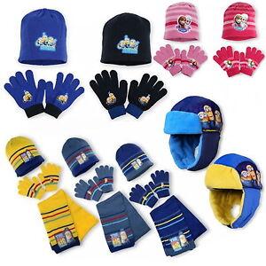 Minions-Gorro-bufanda-guantes-Frozen-Set-de-invierno-talla-unica-Disney-52-54-56