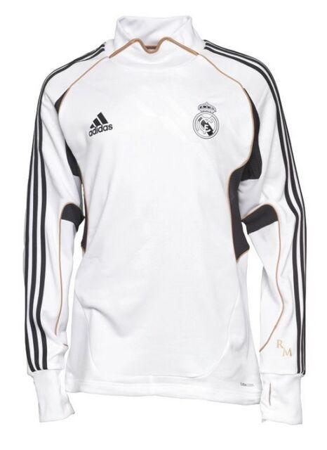 Training Top Adidas Real Madrid Blanc [XL. XXL] Sweatshirt football * Ronaldo