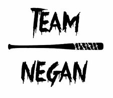 Zombie The Walking Dead Team Negan Decal Vinyl Truck Car Window Sticker