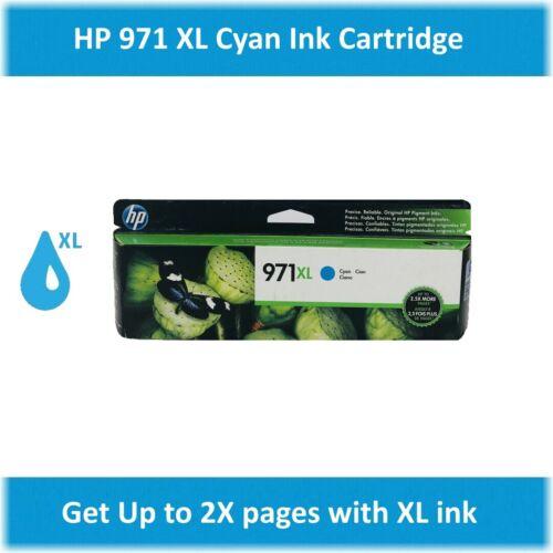 HP 971XL Single High Yield Ink Cartridge EXPIRE 2020 ! Cyan, Magenta, Yellow