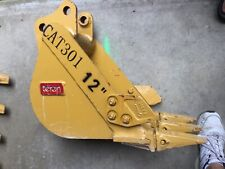 Caterpillar Cat 301 12 Bucket Heavy Duty Digging Mini Excavator 30mm Pins