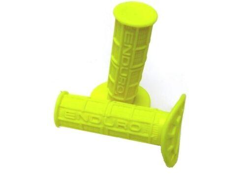 KR GRIFFE Lenkergummi in gelb  ENDURO 110 mm ...Yellow HANDLE BAR GRIPS
