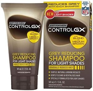 Just-For-Men-Control-GX-Grey-Reducing-Shampoo-for-Light-Shades-1-2-3-6-12-Packs