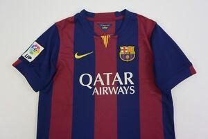 c50be3a3b  Nike FC Barcelona 2014-2015 BARCA Home Shirt Jersey YOUTH ...