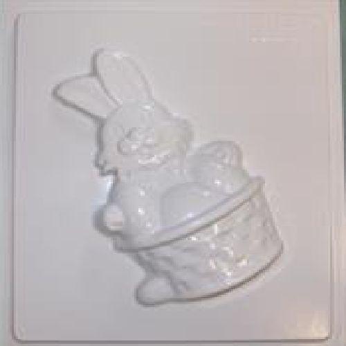 Rabbit w// Eggs Plaster Mould//Mold//Moulds//Molds 2274