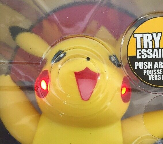 Pok  mon pikachu & kampf grenze die elektronischen licht & pikachu klingt 2007 nrfb fd111f