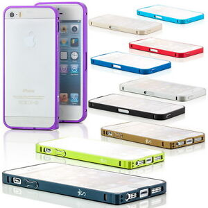 Aluminium-Bumper-fuer-Apple-iPhone-5S-5-SE-Cover-Handy-Tasche-Schutz-Huelle-Case
