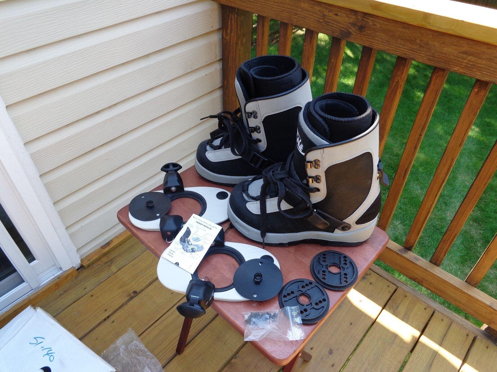 FULL ADV. STEP IN RAGE  - Men's Snowboard Boots MEN'S SIZE 9 SNOW PRO