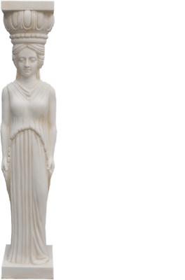 Contemplativo Design Colonna Pilastro Dekosäule Pilastri Fiori Pilastro Supporto Personaggio 1006 Antico Decorazione-