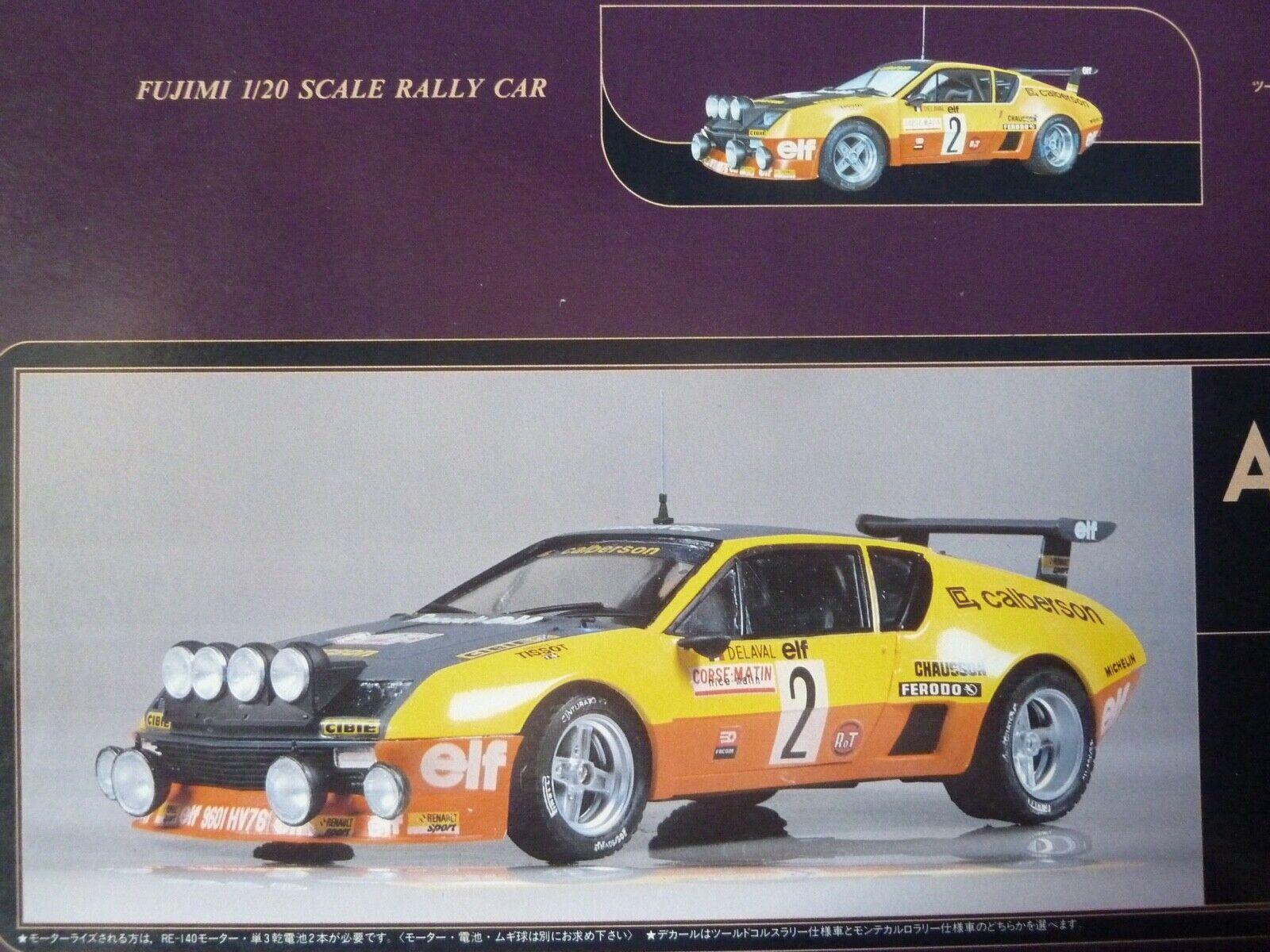 1 20 Fujimi, Alpine Renault  a310 v6, Calberson  livraison directe et rapide