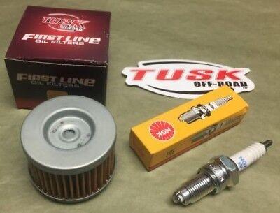 Honda TRX700XX Tune Up Kit K/&N Oil Filter /& NGK Spark Plug TRX 700 2008 2009