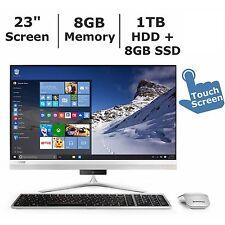 """Lenovo Ideacentre AIO 510s 23"""" All-in-One Desktop Intel Core i3 6100U 8GB 1TB"""