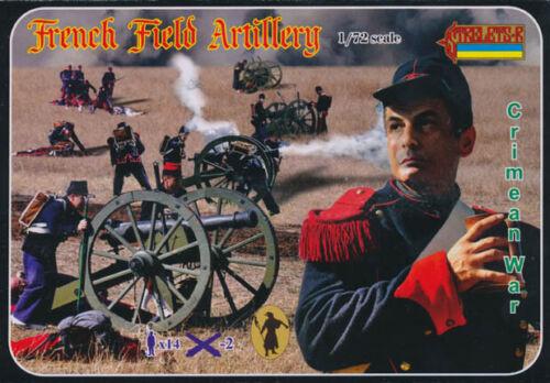 1:72 MADE RUSSIA STRELETS FIGURES 065Crimean War French Field Artillery