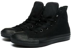 Converse-Hi-Top-All-Star-Chuck-Taylor-Black-Mono-Mens-Womens-Shoes-All-Sizes