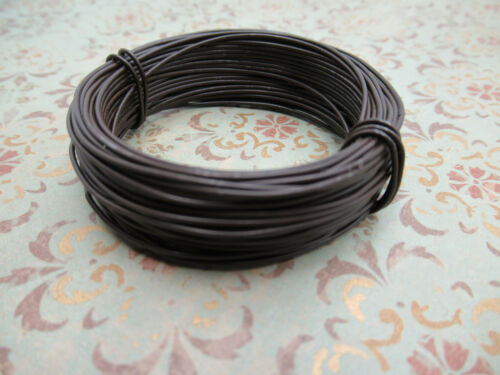 22 Gauge Rusted Steel Tin Wire 30 Foot Strand Large Coil Rusty Wire Looks Old