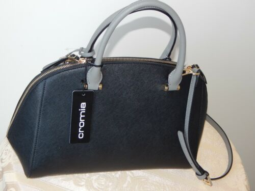 Cromia Polvere Italy Multicolor Satchel Leather Nwt Dome Bag 143779 Saffiano PZkiuTOX
