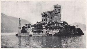 D2265-Isolino-di-Loreto-da-sud-Stampa-d-039-epoca-1923-vintage-print