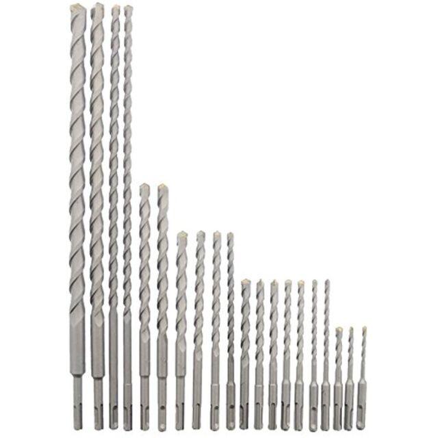 20 Piece SDS Rotary Hammer Concrete Masonry Carbide Tipped Drill Bit Set Fit