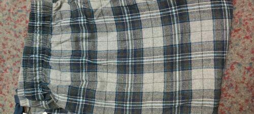 Brooks Brothers Sleep Lounge Pants Men/'s Grey Plaid Flannel-48334 A41