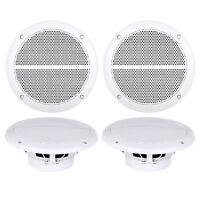 4x Enrock Marine Dual 6.5 Weather Resistant Full Range Speakers 250 Watt on sale