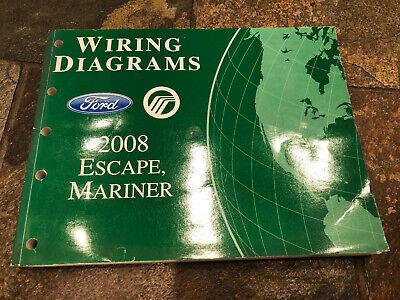 2008 Ford Escape Mercury Mariner Wiring Diagrams ...