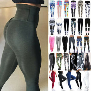 Donna-Workout-Leggings-Yoga-Palestra-da-jogging-sport-fitness-palestra-pantaloni
