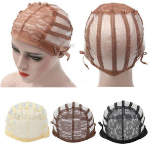 Adjustable-Lace-Pro-Wig-Base-Inner-cap-Breathable-Weaving-Net-making-Wigs-Supply