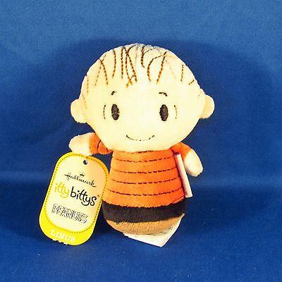 Hallmark - Itty Bittys - Peanuts Gang - Linus - Small Plush NEW