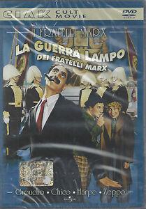 Dvd-LA-GUERRA-LAMPO-DEI-FRATELLI-MARX-Groucho-Chico-Harpo-Zeppo-nuovo-1933