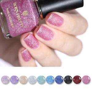 Born-Pretty-Sandy-azucar-brillo-brillante-gradiente-de-Esmalte-de-Unas-Nail-Art-barniz