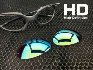 9055406717 LINEGEAR Custom Lens for Oakley X-Metal Romeo1  Prizm - HD Turquoise ...