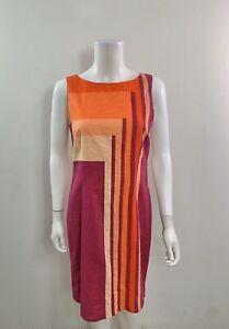 Catherine-Malandrino-Women-s-Size-6-Round-Neck-Sleeveless-Dress