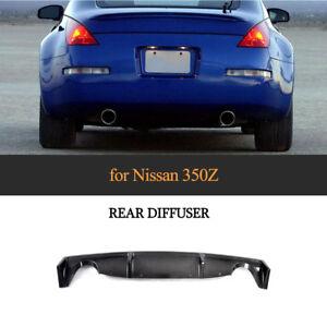 Carbon-Diffusor-Heck-Ansatz-hinten-Spoiler-fuer-Nissan-Z33-350Z-Convertible-Coupe