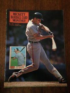 Cal Ripken Cover Beckett Baseball Card Price Guide May 1991 Issue