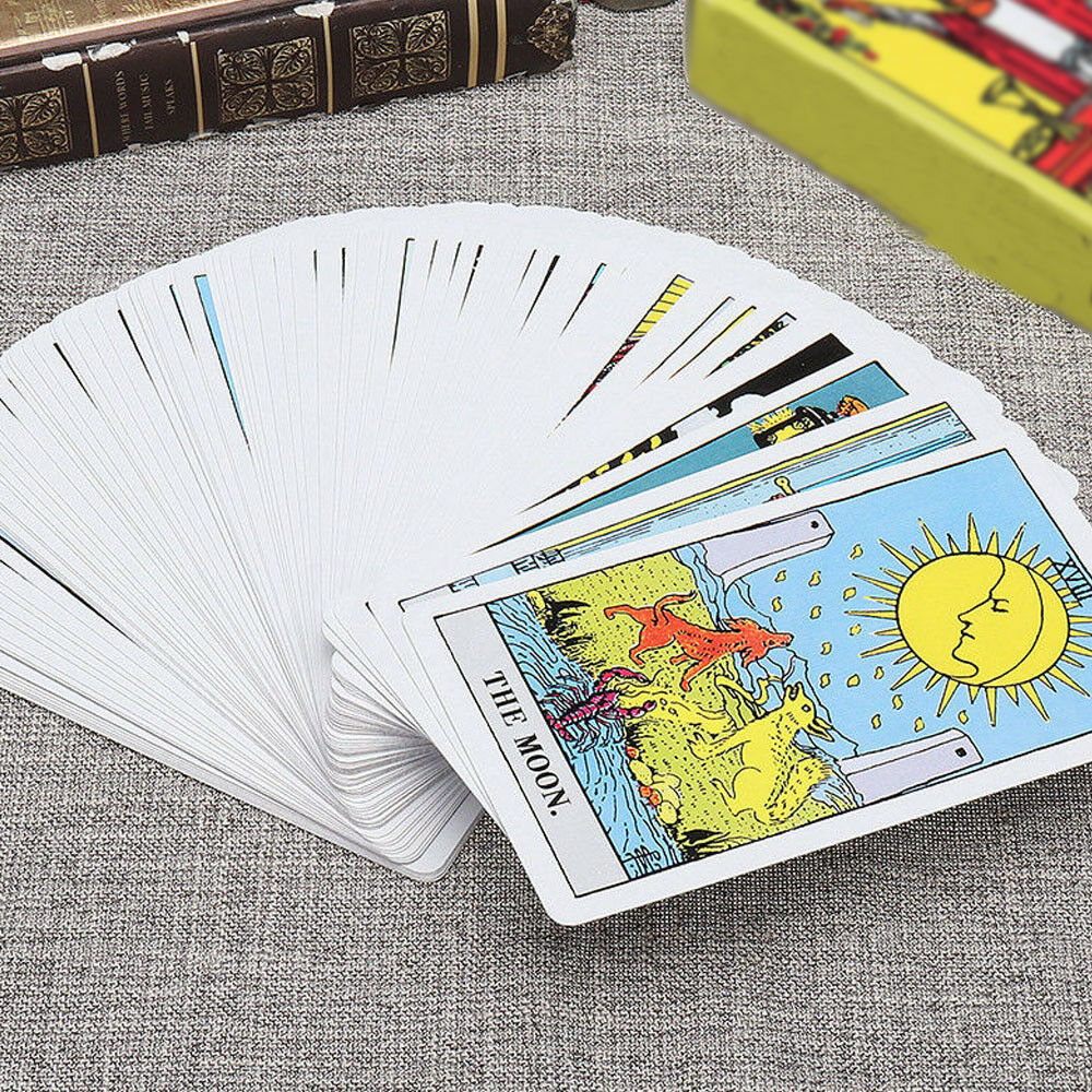 The Most Popular Tarot Deck 78 Cards English Version Future Telling Sealed 3
