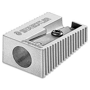 2-x-Staedtler-Pencil-Sharpener-Single-Hole-Metal-Heavy-Duty-Premium-Quality