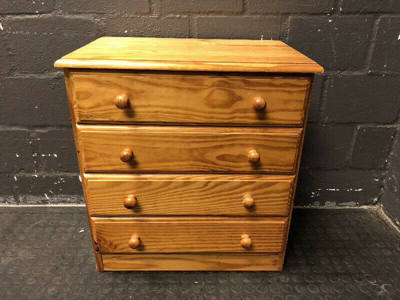 Pine chest Of Drawers- A34874