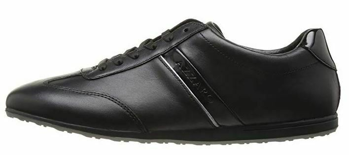 Azzaro Paris men's designer Pelta leather trainers size 40(6UK)